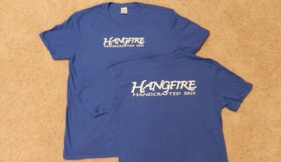 T-Shirts - Hangfire Handcrafted Skis